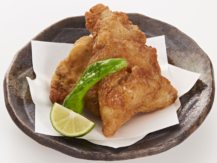 Deep-fried Tora-fugu
