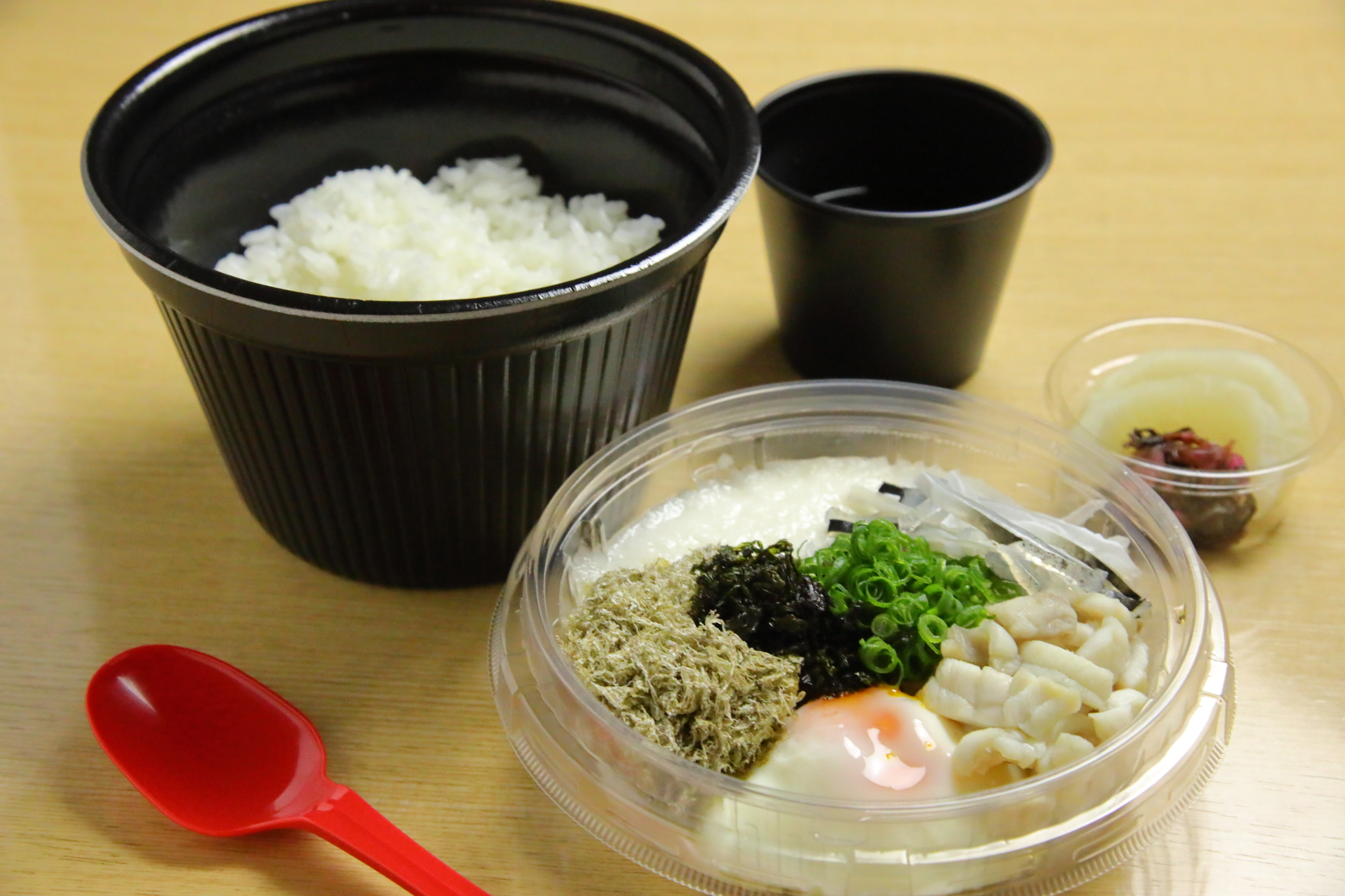 Bowl of rice topped with Torafugu