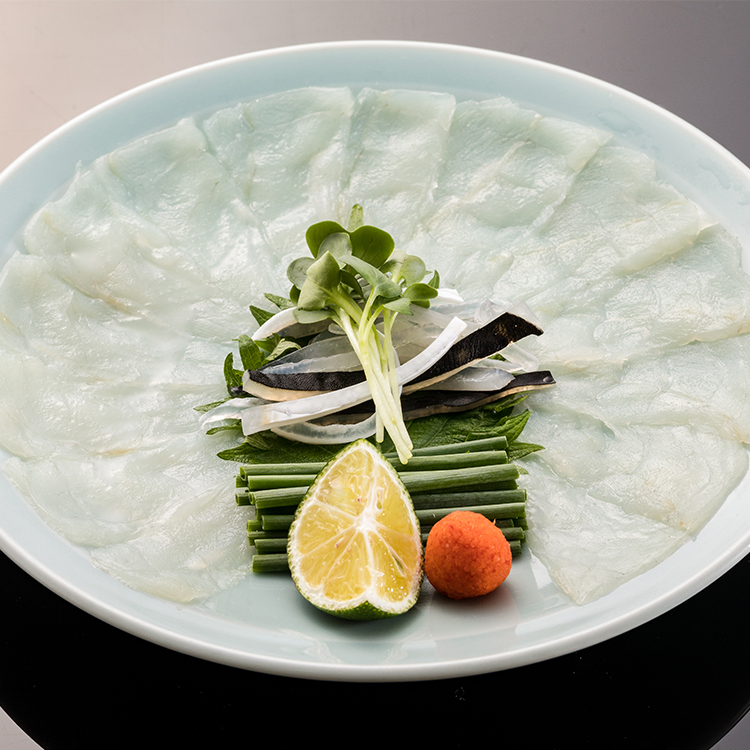 Charcoal-broiled Tora-fugu